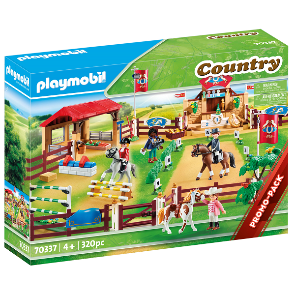 Image of Stor rideturneringsplads - PL70337 - PLAYMOBIL Country (PL70337)