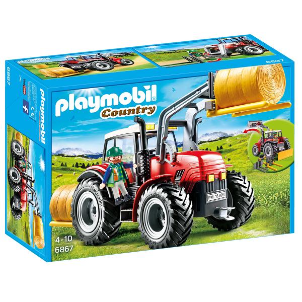 Image of Stor traktor - PL6867 - PLAYMOBIL Country (PL6867)