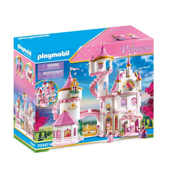 Image of Stort prinsesseslot - PL70447 - PLAYMOBIL Princess (PL70447)