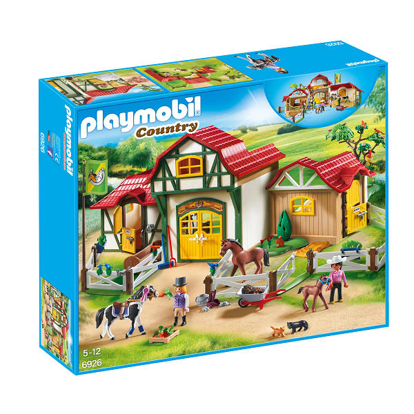 Image of Stort ridecenter - PL6926 - PLAYMOBIL Country (PL6926)