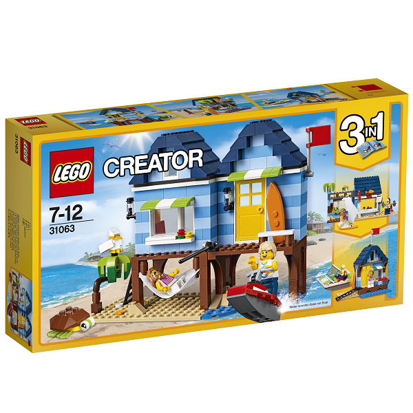 Image of Strandferie - 31063 - LEGO Creator (31063)