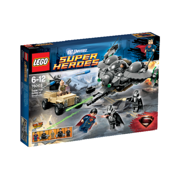 Superman: Kampen om Smallville - 76003 - LEGO Super Heroes