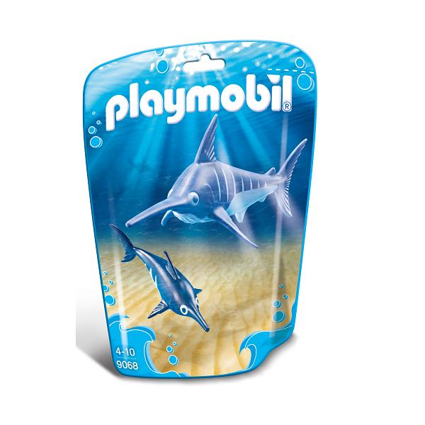 Sværdfisk med unge - PL9068 - PLAYMOBIL Family Fun