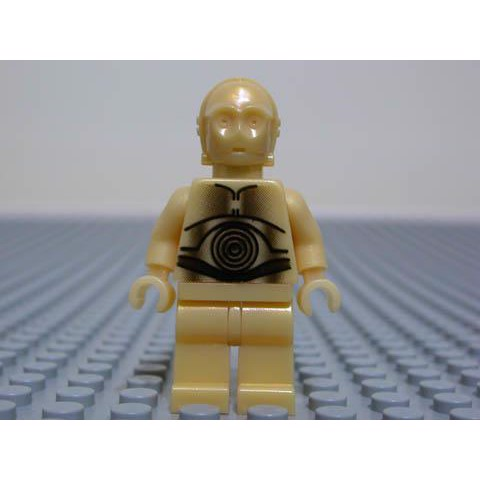 Image of   C-3PO - guld, perle