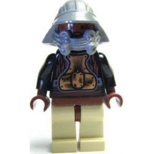 Lando Calrissian - Skiff Guard, rødbrune hofter