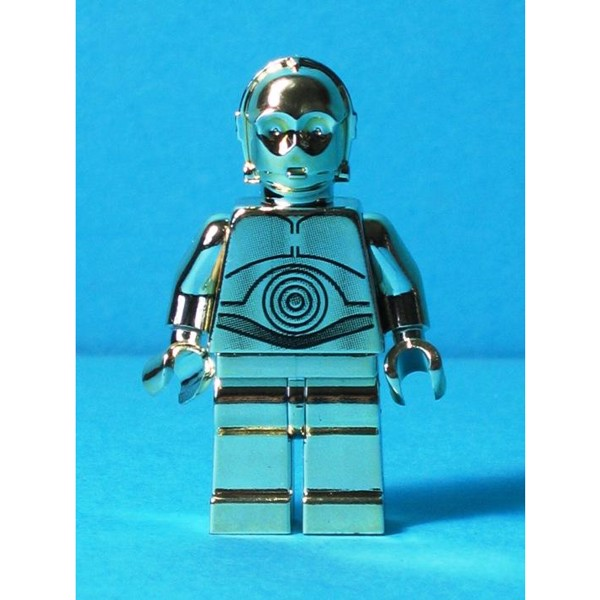 Image of   C-3PO - krom guld