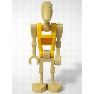 Image of   Battle Droid Commander med lige arm og gul krop