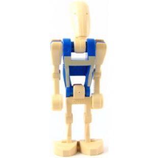 Image of   Battle Droid Pilot med blå krop