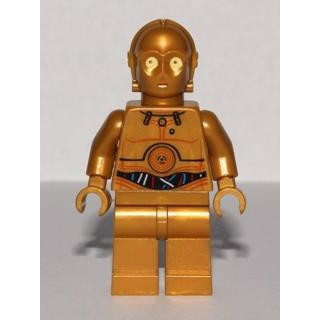 Image of   C-3PO - Colorful Wires Pattern