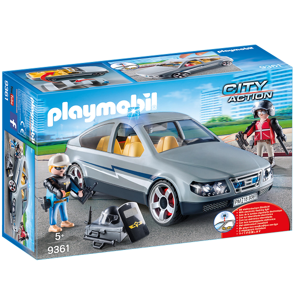 Image of   SWAT-civilvogn - 9361 - PLAYMOBIL City Action