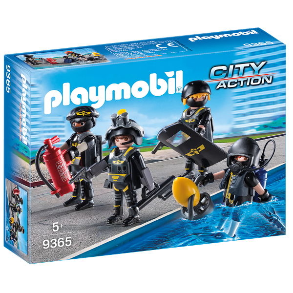 Image of   SWAT-team - 9365 - PLAYMOBIL City Action