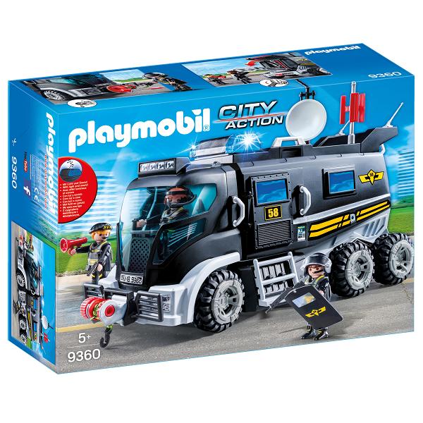 Billede af SWAT-truck med lys og lyd - 9360 - PLAYMOBIL City Action