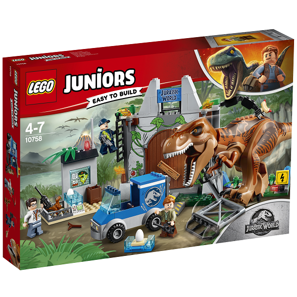 Image of T. rex bryder ud - 10758 - LEGO Juniors (10758)
