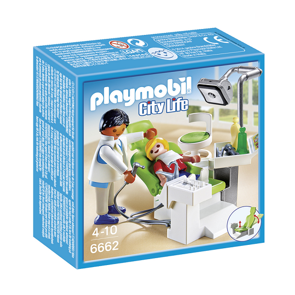 Image of   Tandlæge - PL6662 - PLAYMOBIL City Life