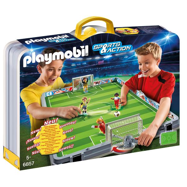 Transportabelt fodboldstadion  - PL6857 - PLAYMOBIL Sports & Action