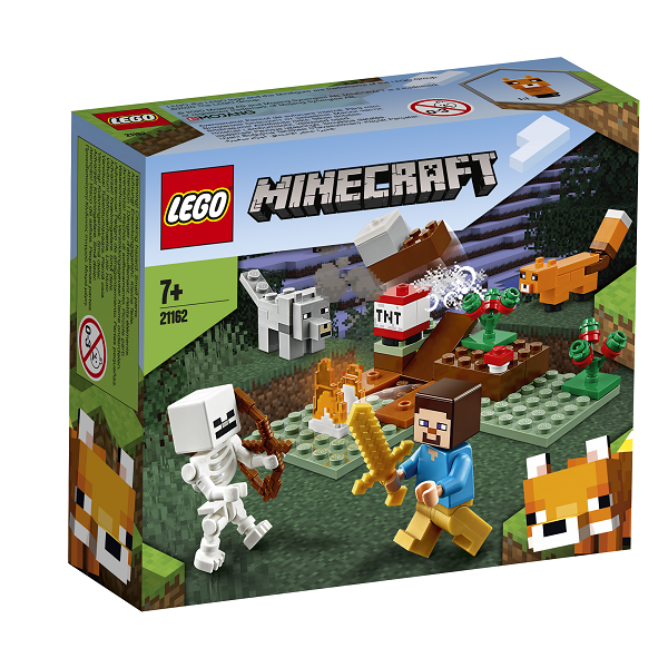 Image of Tajga-eventyret - 21162 - LEGO Minecraft (21162)