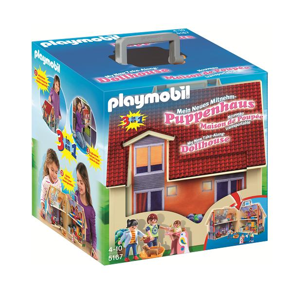 Image of Dukkehus til at tage med - PL5167 - PLAYMOBIL Dollhouse (PL5167)