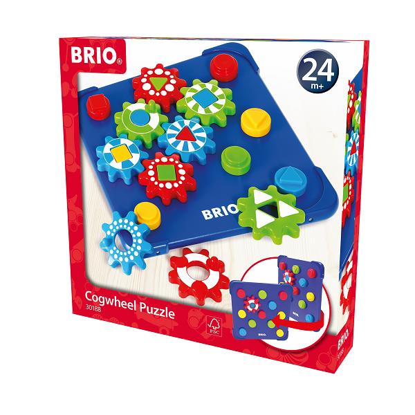 Tandjulspuslespil - 30188 - BRIO Toddler