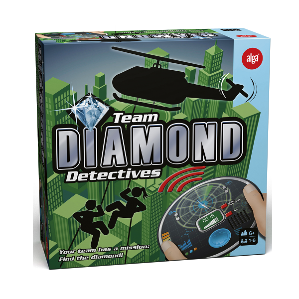 Image of Team Diamond Detectives - Fun & Games (38018428)