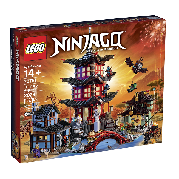 Image of   Temple of Airjitzu - 70751 - LEGO Ninjago
