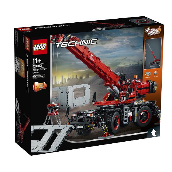 Image of   Terrængående kran - 42082 - LEGO Technic
