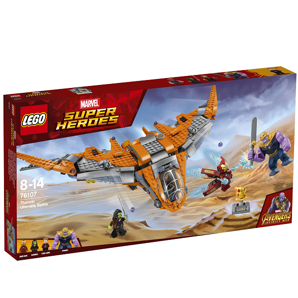 Image of Thanos: Den ultimative kamp - 76107 - LEGO Super Heroes (76107)