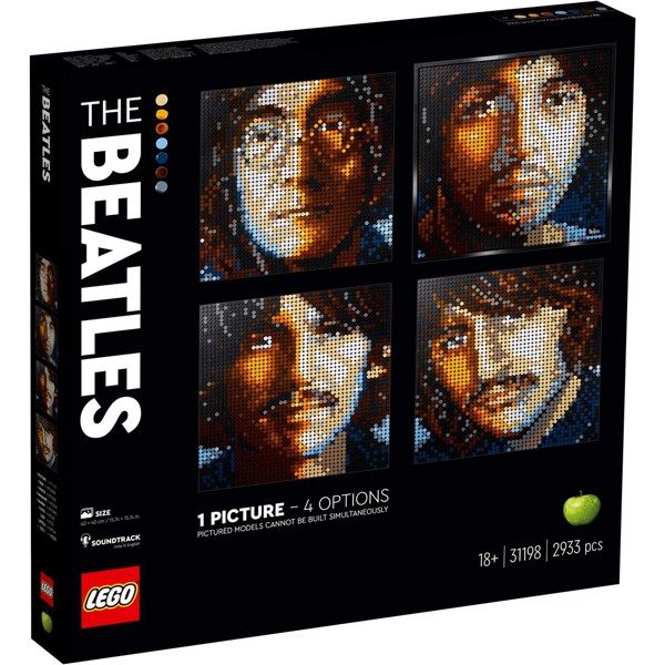 Image of The Beatles - 31198 - LEGO Art (31198)