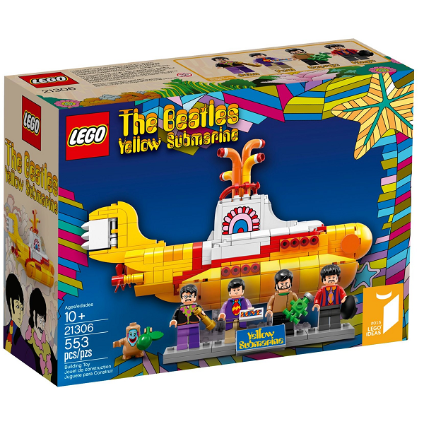 Image of   The Beatles Yellow Submarine - 21306 - LEGO Exclusive