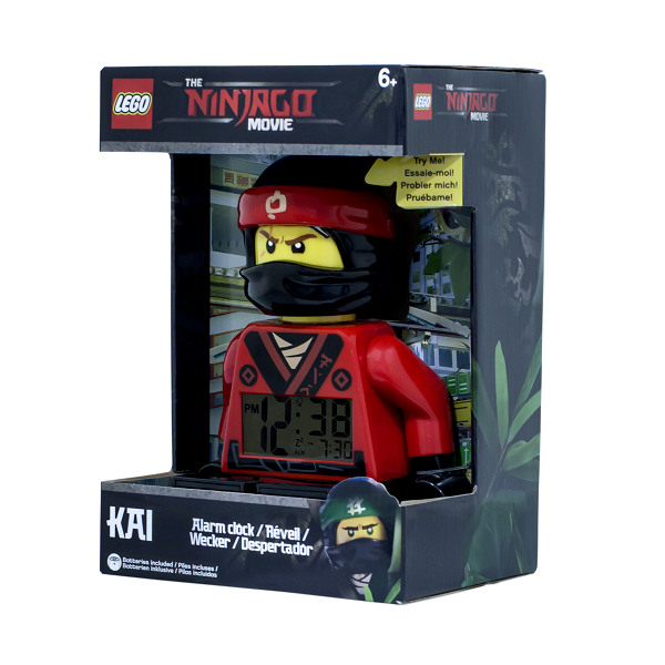LEGO The Ninjago Movie Kai Minifigur-vækkeur - LEGO Watch