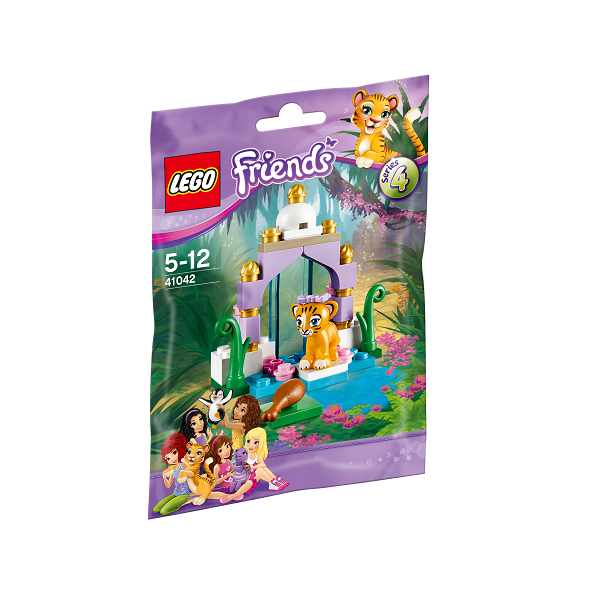 Image of   Tigerens smukke tempelhus- 41042 - LEGO Friends
