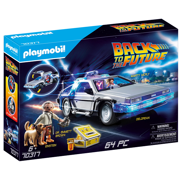 Image of Back to the Future DeLorean - PL70317 - PLAYMOBIL Back to the future (PL70317)