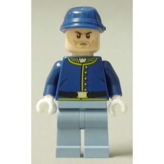 Image of   Cavalry Soldier, brune øjenbryn - LEGO® Lone Ranger®