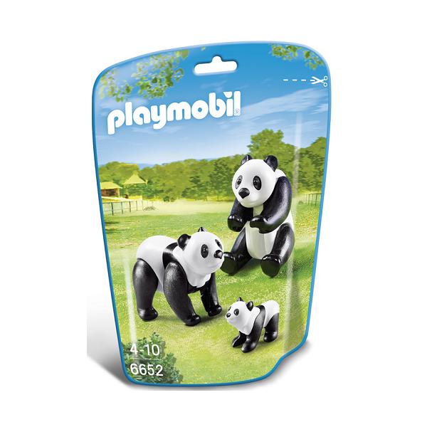 Image of To pandaer med unge - PL6652 - PLAYMOBIL Wild Life (PL6652)