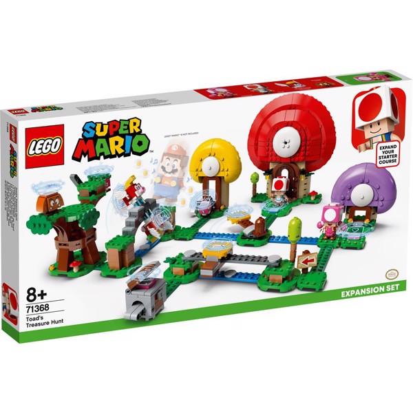 Image of Toads skattejagt - udvidelsessæt - 71368 - LEGO Super Mario (71368)