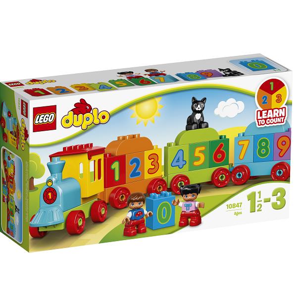Image of Tog med tal - 10847 - LEGO DUPLO (10847)