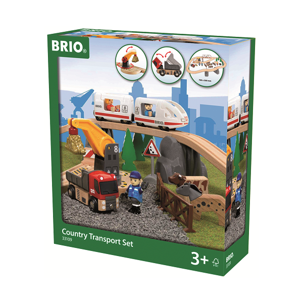 Togbane, Country Transport Specialsæt - 33109 - BRIO