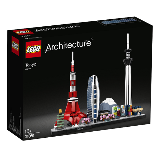 Image of Tokyo - 21051 - LEGO Architecture (21051)