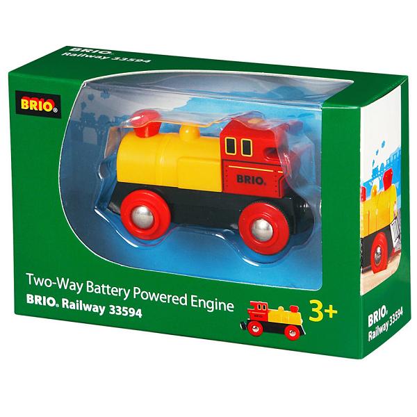 Image of Tovejs lokomotiv, batteridrevet - 33594 - BRIO Tog (33594)