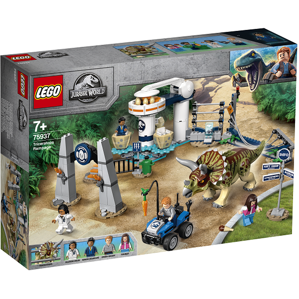 Image of Triceratops-ravage - 75937 - LEGO Jurassic World (75937)