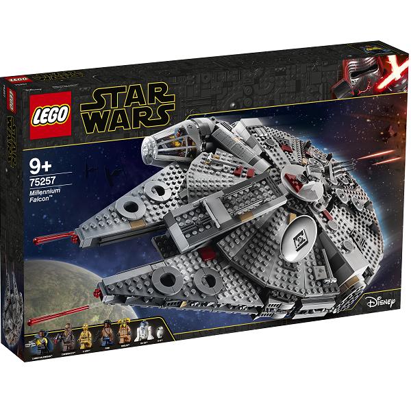 Image of   Tusindårsfalken - 75257 - LEGO Star Wars