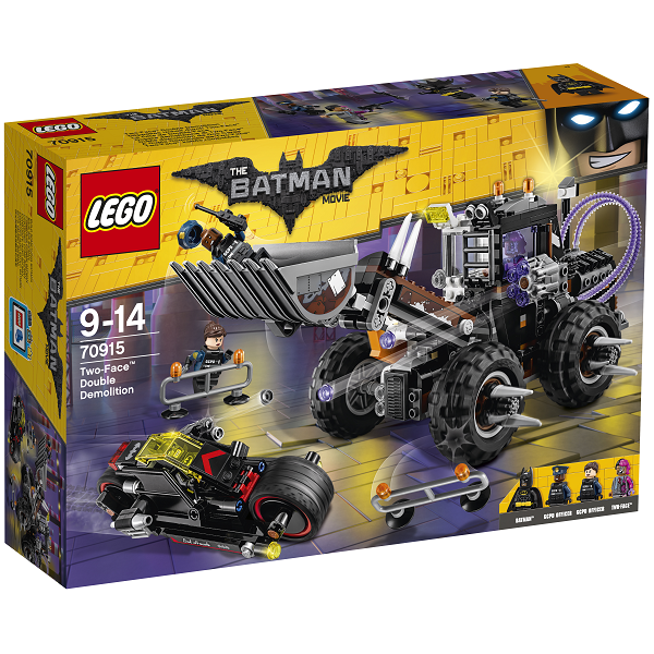 Two-Face dobbelt nedrivning - 70915 - THE LEGO BATMAN MOVIE