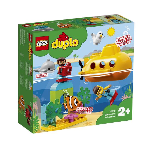 Image of Ubådeventyr - 10910 - LEGO DUPLO (10910)