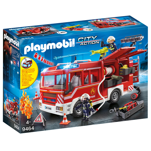 Image of Udrykningsvogn - 9464 - PLAYMOBIL City Action (PL9464)