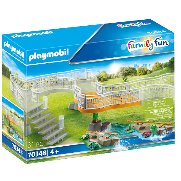 Image of Udvidelsessæt oplevelses-zoo - PL70348 - PLAYMOBIL Family Fun (PL70348)