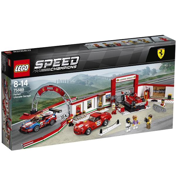 Image of Ultimativt Ferrari-værksted - 75889 - LEGO Speed Champions (75889)
