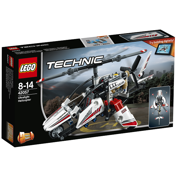 Ultralet helikopter - 42057 - LEGO Technic