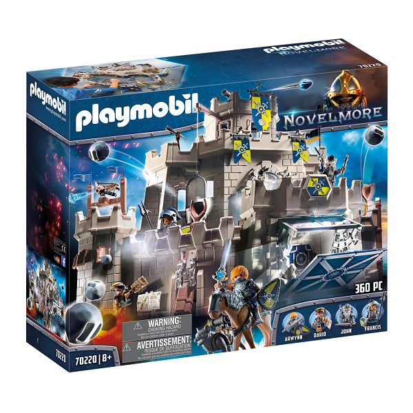 Image of Ulveriddernes slot - PL70220 - PLAYMOBIL Knights (PL70220)