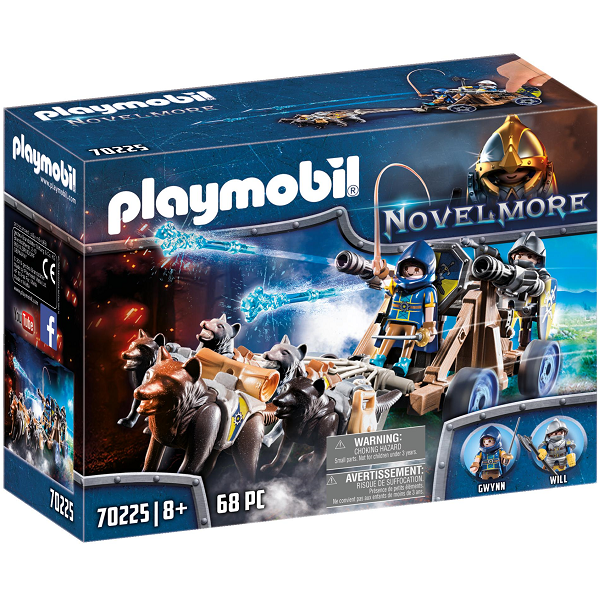 Image of Ulveriddernes vandkanon - PL70225 - PLAYMOBIL Knights (PL70225)