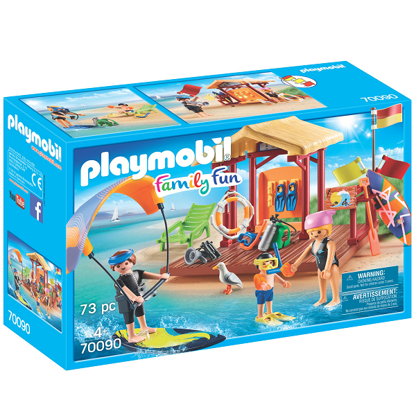 Image of Undervisning i vandsport - PL70090 - PLAYMOBIL Family Fun (PL70090)
