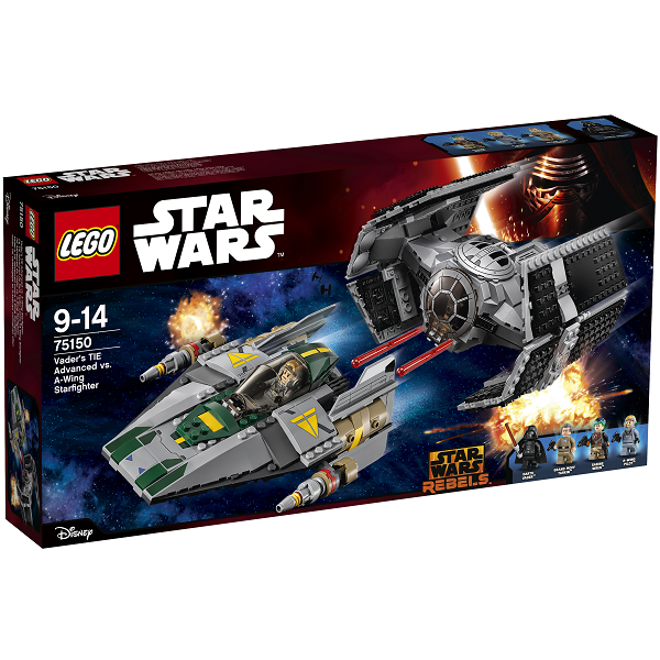 Vaders TIE Advanced mod A-wing Starfighter - 75150 - LEGO Star Wars